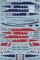 Xtradecal 1/72 BAe Jetstream Collection # 72327