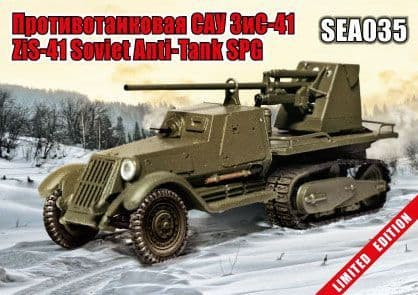 Zebrano 1/72 ZiS-41 Soviet Anti-Tank SPG # SEA035