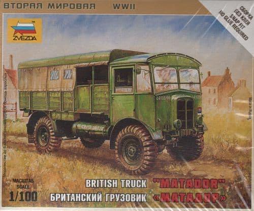 Zvezda 1/100 British Truck Matador # 6175