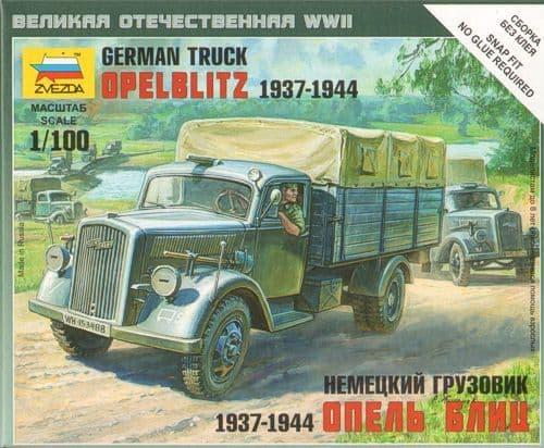 Zvezda 1/100 Opel Blitz # 6126