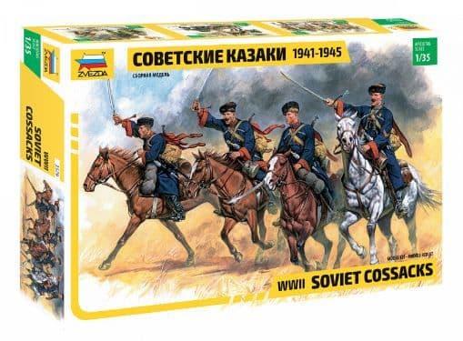 Zvezda 1/35 Soviet Cossacks WWII # 3579