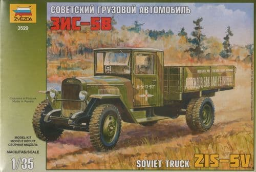 Zvezda 1/35 Zis-5V Soviet Truck # 3529