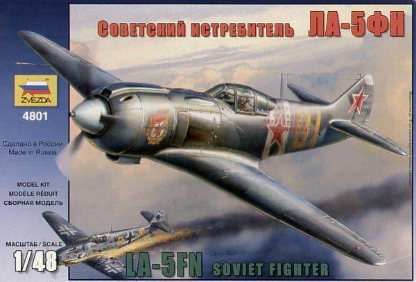 Zvezda 1/48 Lavochkin La-5FN # 4801