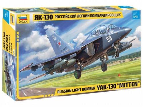 Zvezda 1/48 YAK-130 Russian Light Bomber # 4818