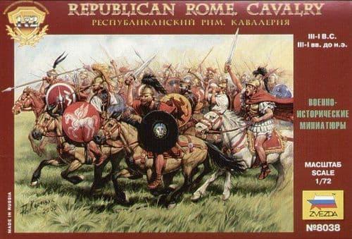Zvezda 1/72 Republican Rome Cavalry # 8038