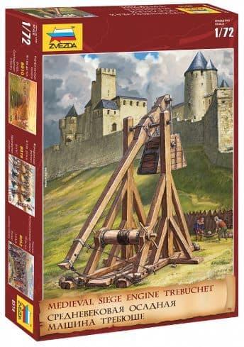 Zvezda 1/72 Trebuchet Medieval Siege Engine # 8516