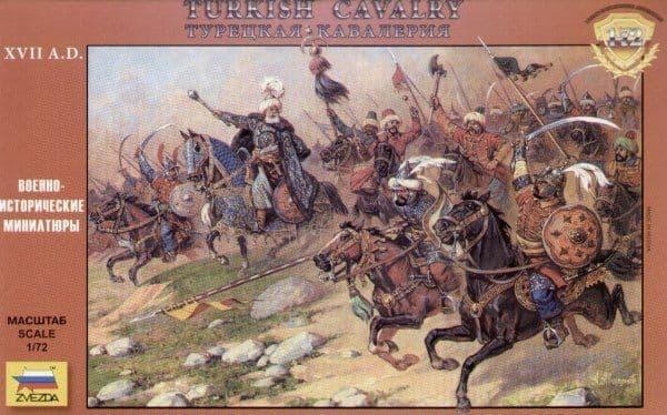 Zvezda 1/72 Turkish Cavalry 16-17th Century # 8054