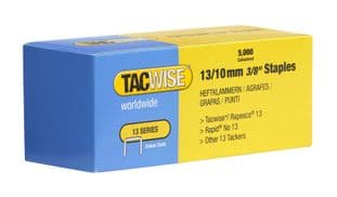 Tacwise 0235 13/10mm galvanised Staples (5,000)