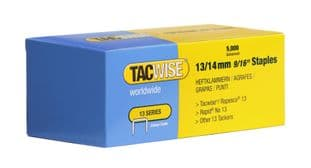 Tacwise 0236 13/14mm Galvanised Staples (5,000)