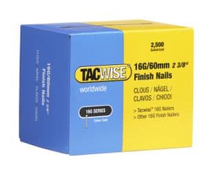 Tacwise 0300 16G/60mm Galvanised Finish Nails (2,500)