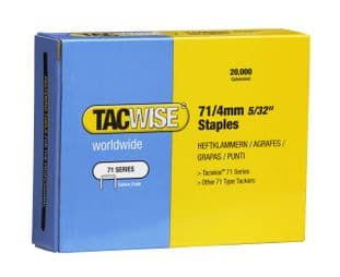 Tacwise 0365 71/4mm Galvanised Staples (20,000)