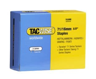 Tacwise 0372 71/16mm Galvanised Staples (10,000)