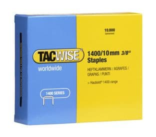 Tacwise 0378 1400/10mm Galvanised Staples (10,000)
