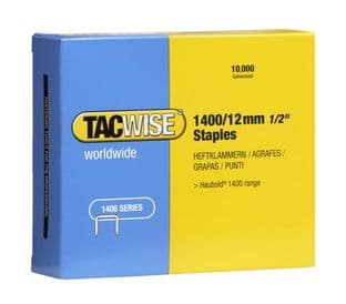 Tacwise 0379 1400/12mm Galvanised Staples (10,000)