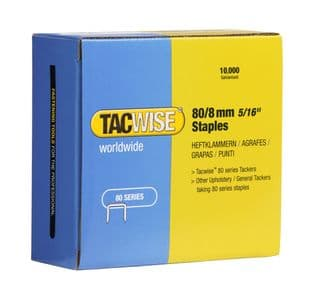 Tacwise 0382 80/8mm Galvanised Staples (10,000)