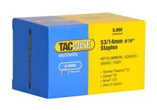 Tacwise 0452 53/14mm Galvanised Staples (5,000)