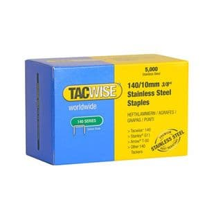 Tacwise 0477 140/10mm Stainless Steel Staples (5,000)