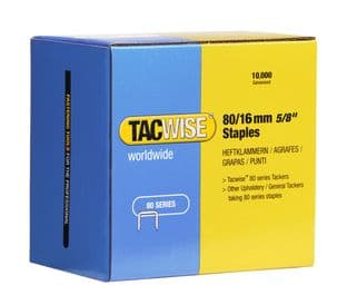 Tacwise 1141 80/16mm Galvanised Staples (10,000)