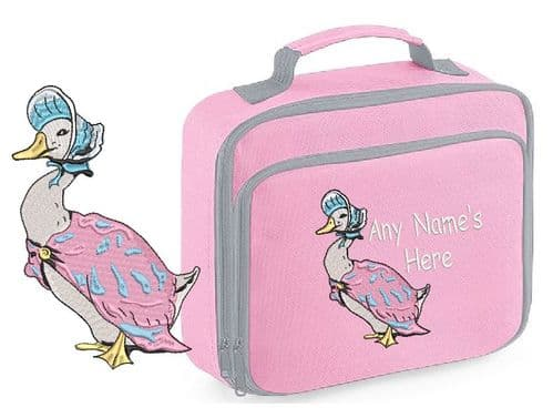 Jemima Puddle Duck design Lunch box bag.