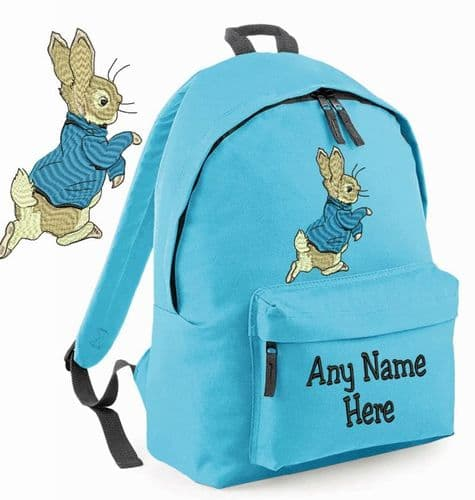 PETER RABBIT Rucksack/Backpack with any name