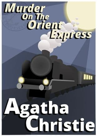 Agatha Christie Poirot Murder on the Orient Express
