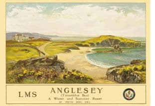Anglesey Trearddur bay North Wales