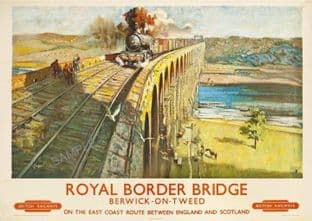 Berwick-Upon-Tweed  Royal Border Bridge