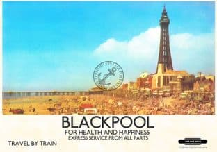 Blackpool Tower & sands
