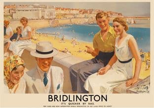 Bridlington Beach Art Deco Seaside