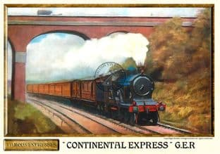 G.E.R. Continental Express Steam Train