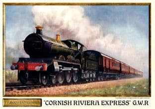 G.W.R. Cornish Riviera Express Steam Train
