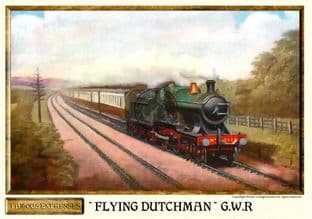 G.W.R. Flying Dutchman Steam Train