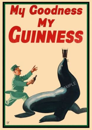 Guinness Beer Advert - Seal
