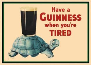 Guinness Beer Advert - Tortoise