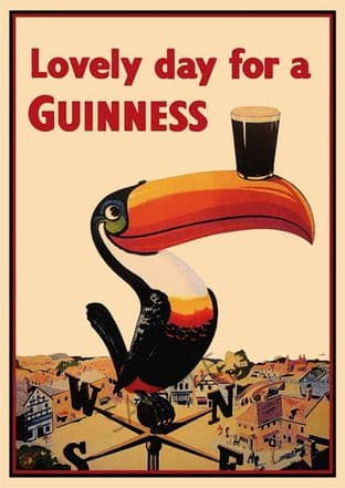 Guinness Beer Advert - Toucan