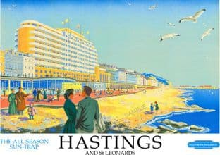 Hastings Beach Front East Sussex