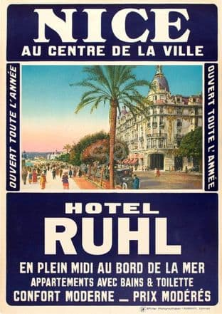 Hotel Ruhr, Nice, France