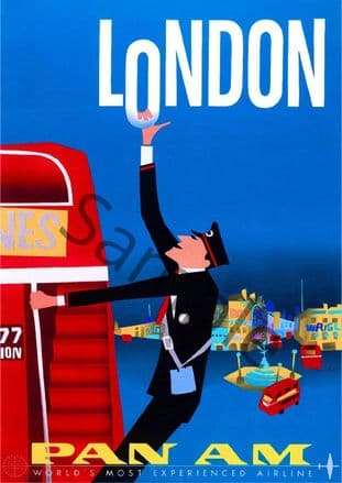 London Pan Am Advert