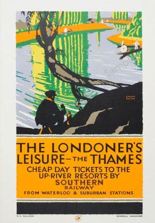 Londoner's Leisure on the Thames