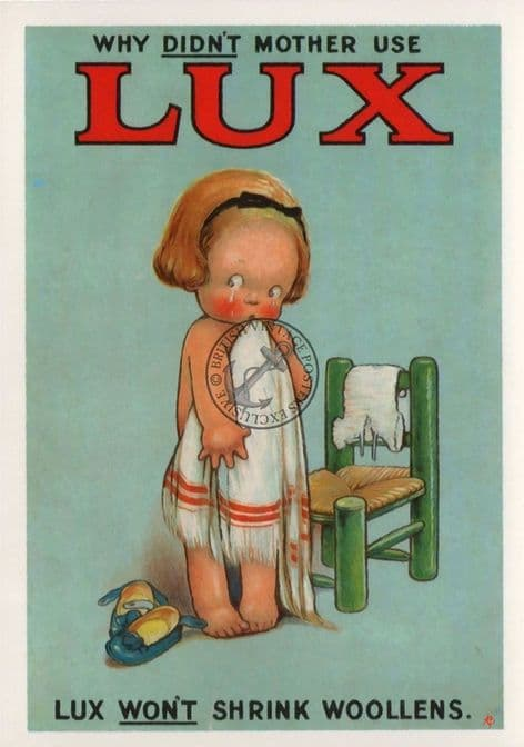 Lux Soap Advert Poster