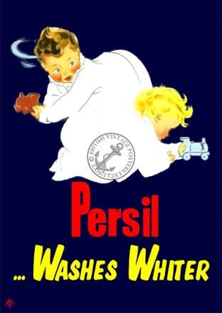 Persil Washing Powder Advert