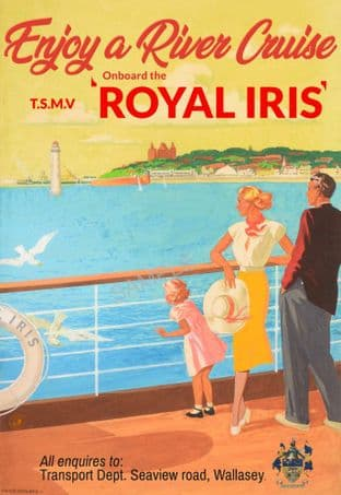 Royal Iris Cruise Ship - Mersey, Liverpool
