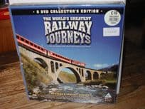 8-DVD Set Railway Journeys