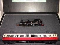 Auto coach and British Railways Tank Locomotive Set