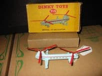 Dinky Bristol 173 helicopter