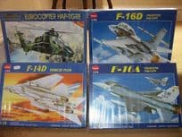 Four Model Aeroplane Kits