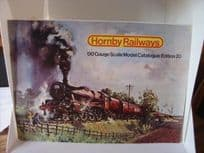 Hornby Railways 20th Edition Catalogue