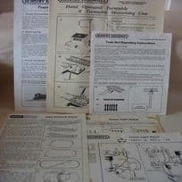 Hornby Railways Operating Instructions Leaflets