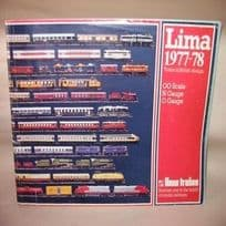 Lima Catalogue of 0, 00 & N Gauge Trains