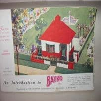 Pre-War Bayko Instructions Book